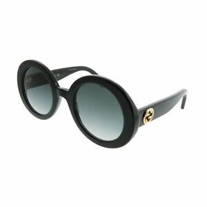 85345cd7dd5 Image is loading New-Authentic-Gucci-GG0319S-001-Black-Plastic-Sunglasses-