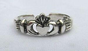 925 Sterling Silver Adjustable Teardrop  Toe Ring  ! Brand   New !!