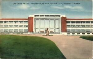 University-of-Philippines-Diliman-Quezon-City-Philippine-Islands-1940s-postcard