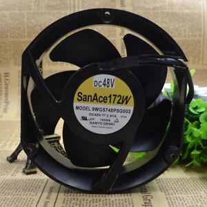 SANYO 9WG5748P5G003 DC48V 2 91A Inverter cooling fan #M4592 QL | eBay