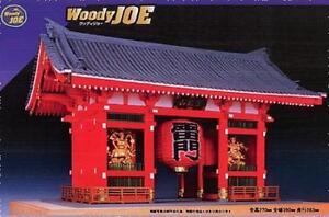 Woody JOE 1/50 Kaminarimon (paint type) Wooden Mini Model Kit Japan