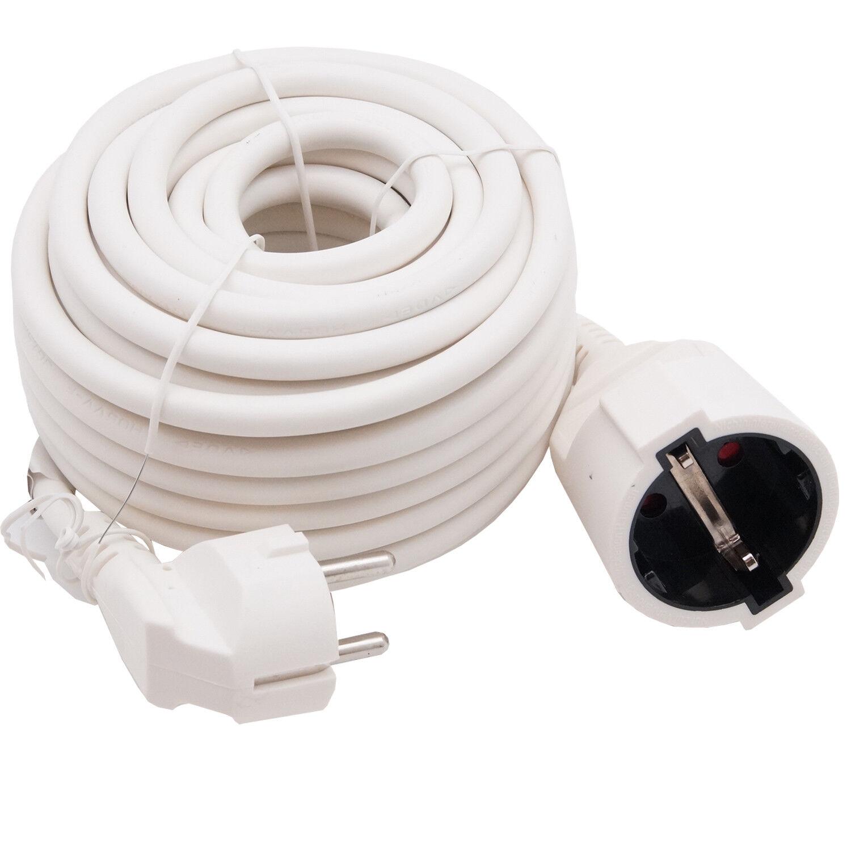 Verlängerungskabel 10m SCHUKO 3-Wege H07RN-F 3x2,5mm Stromkabel Gummikabel 9207