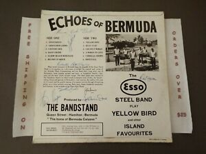 *AUTOGRAPHED* THE ESSO STEEL BAND ECHOES OF BERMUDA LP