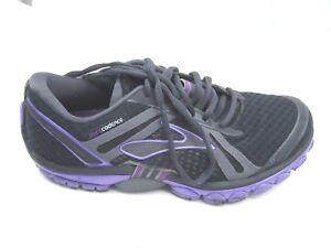 b7740938d82 Brooks size 7.5B Pure Cadence black purple womens running athletic ...