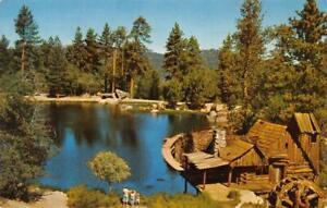 CEDAR-LAKE-CA-Frank-Chevrolet-Co-Ad-1959-Vintage-Postcard