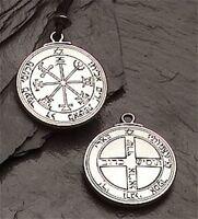 2 Pack Jupiter Talisman Good Luck Fortune - Honesty Wealth Necklace Pendant