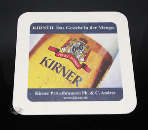 Kirner-Pils-Privatbrauerei-Das-Gesicht-in-der-Menge-Deckel-Bierdeckel-Sammler