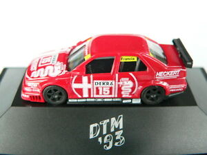 HERPA ALFA ROMEO 155 V6 DTM 1993 #15 GIORGIO FRANCIA TEAM SCHÜBEL, NEU OVP - Deutschland - HERPA ALFA ROMEO 155 V6 DTM 1993 #15 GIORGIO FRANCIA TEAM SCHÜBEL, NEU OVP - Deutschland