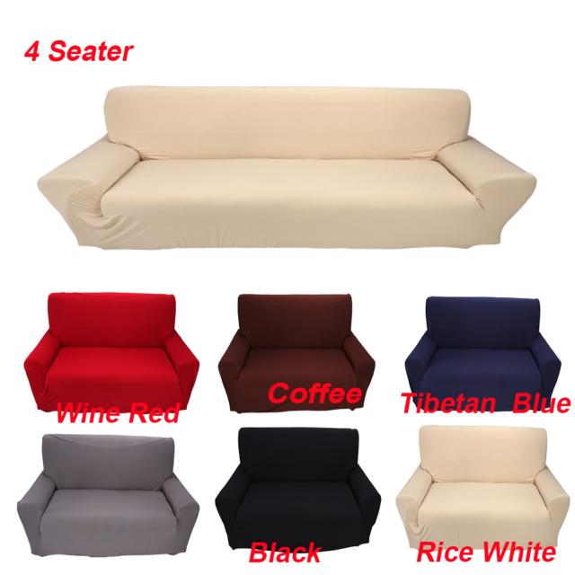 Admirable 1 2 3 4 Seat Seater Sofa Slipcover Stretch Protector Soft Couch Furniture Covers Inzonedesignstudio Interior Chair Design Inzonedesignstudiocom