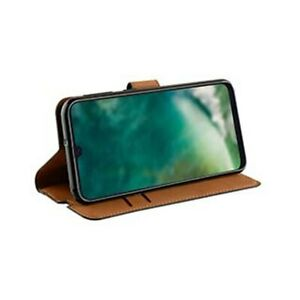 Pour-Samsung-Galaxy-A50-Xqisit-Slim-Portefeuille-Etui-avec-Stand-Noir
