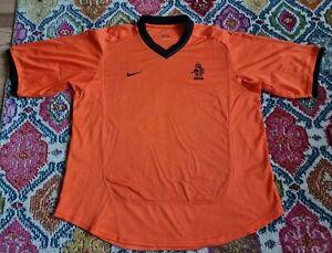 Vintage Holland Football Shirt 2000/02 XL Nike