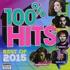 100% Hits Best of 2015 by Various Artists (CD, Dec-2015)