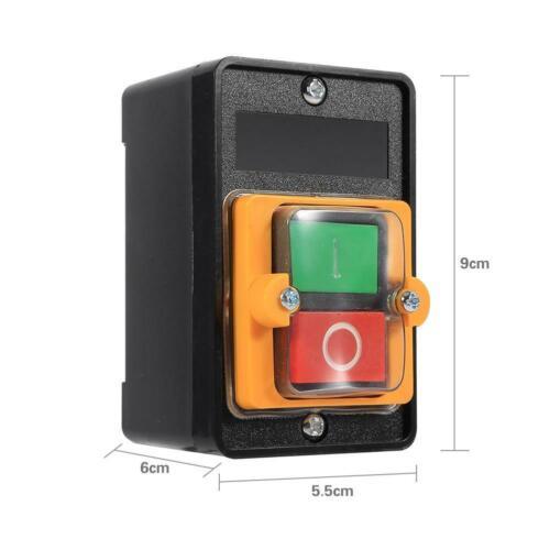380V 10A Impermeable On/Off interruptor de botón de parada de inicio accesorios para máquina de MS