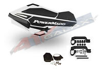 Powermadd Sentinel Handguard Hand Guards Mirror White Snow Snowmobile Hayes