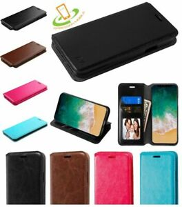 Motorola-Moto-G7-POWER-G7-SUPRA-Leather-Card-Wallet-Phone-Case-Protective-Cover
