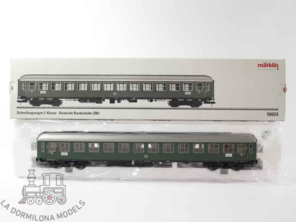 Va05-escala 1-märklin 58024 schnellzugwagen 2. klasse b4üm-61 19 407 münchen   profiter de vos achats
