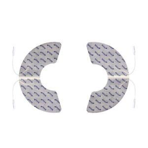 2xKnie-TENS-Elektroden-Pads-mit-2mm-Stecker-fuer-TENS-EMS-Geraet-z-B-Sanitas-SEA29