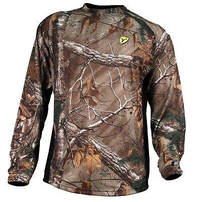 Scent Blocker BC 8th Layer Long Sleeved Shirt $39.99 Realtree Xtra