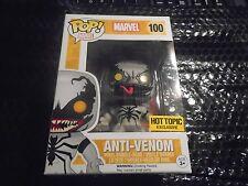 Marvel Anti-venom Funko Pop! Hot Topic Exclusive Bobble head