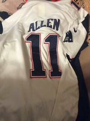 New England Patriots Allen 11 Jersey XL Nike | eBay