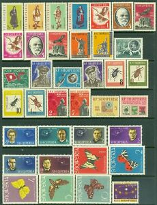 Cat $240 Edw1949sell Albania Collection Of All Vf Mog Cplt Sets & S/s 1962-64