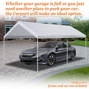 10'x20' Carport Replacement Canopy Cover for Tent Top ...