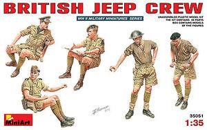 MODEL-KIT-FIGURES-MIN35051-Miniart-1-35-British-Jeep-Crew