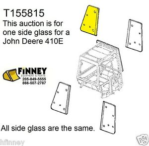 john deere 310e 310se 315se 410e 710d new backhoe cab glass window rh ebay com John Deere 310SG 2000 John Deere 310Se