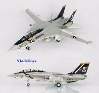 Hobby Master 1:72 F-14a Tomcat Usn Vf-84 Jolly Rogers Aj202 Uss Nimitz Ha5211