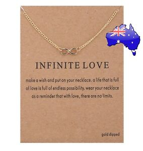 Dogeared-Infinite-Love-Gold-Dipped-Infinity-Pendant-Necklace-Card-amp-Gift-Pouch