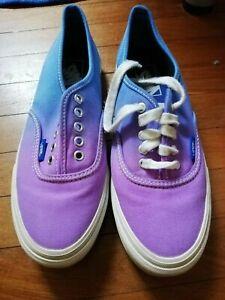 VANS bicolore viola azzurre | eBay