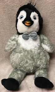3c8c26ec66b MUMBLE stuffed animal BUILD A BEAR workshop PENGUIN babw bab plush ...