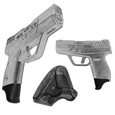 "3 Pack Taurus PT709 & PT740 Slim 1.25"" Magazine Mounted Garrison Grip Extension"