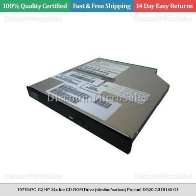slimline/carbon Dedicated 1977047c-c2 Hp 24x Ide Cd-rom Drive Proliant Dl320 G3 Dl140 G1 For Improving Blood Circulation