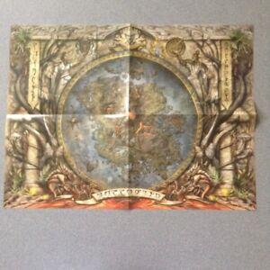 Elder Scrolls Online Morrowind Folded Poster / Map of Morrowind NEW ...