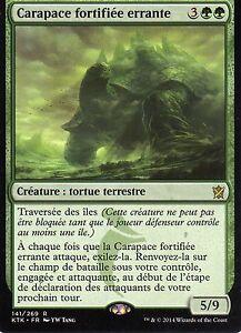 MTG-Magic-Les-Khans-de-Tarkir-Carapace-fortifiee-errante-Rare-VF