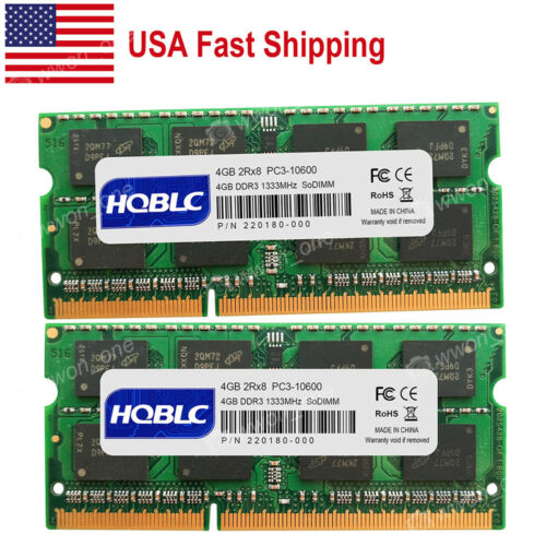 USA 4GB 8GB PC3-10600 DDR3 1333MHz for iMac 21.5inch Mid-2010 Mid-2011 A1311
