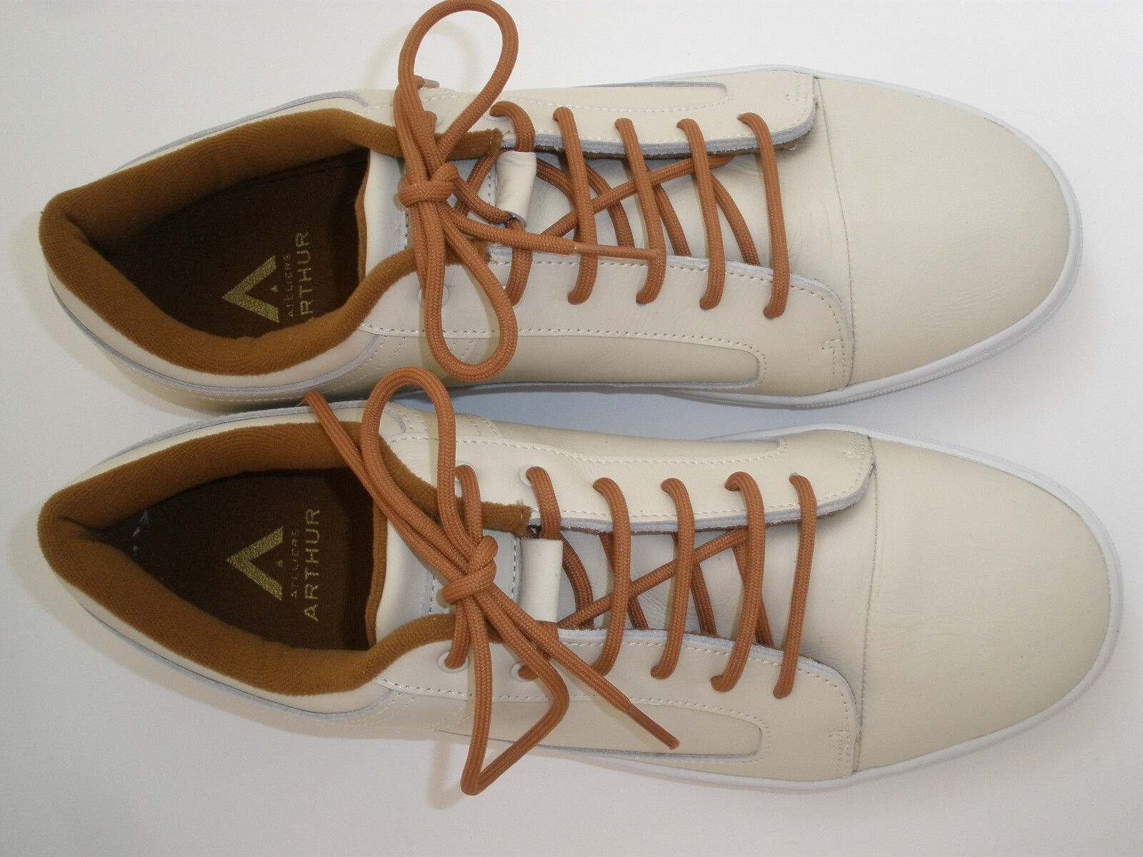 ATELIERS ARTHUR LEATHER SNEAKERS 12 Uomo SIZE   12 SNEAKERS EUR 45 HOT RARE 4dbc55