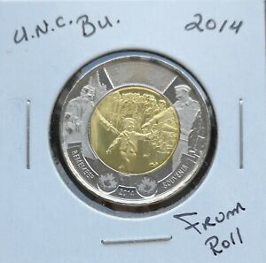 CANADA-TOONIE-2014-WAIT-FOR-ME-DADDY-FROM-MINT-ROLL