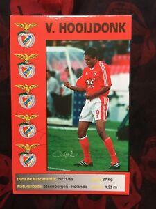 Autogramm PIERRE VAN HOOIJDONK-Benfica Lissabon-NS HOLLAND-Ex-Fenerbahce-AK