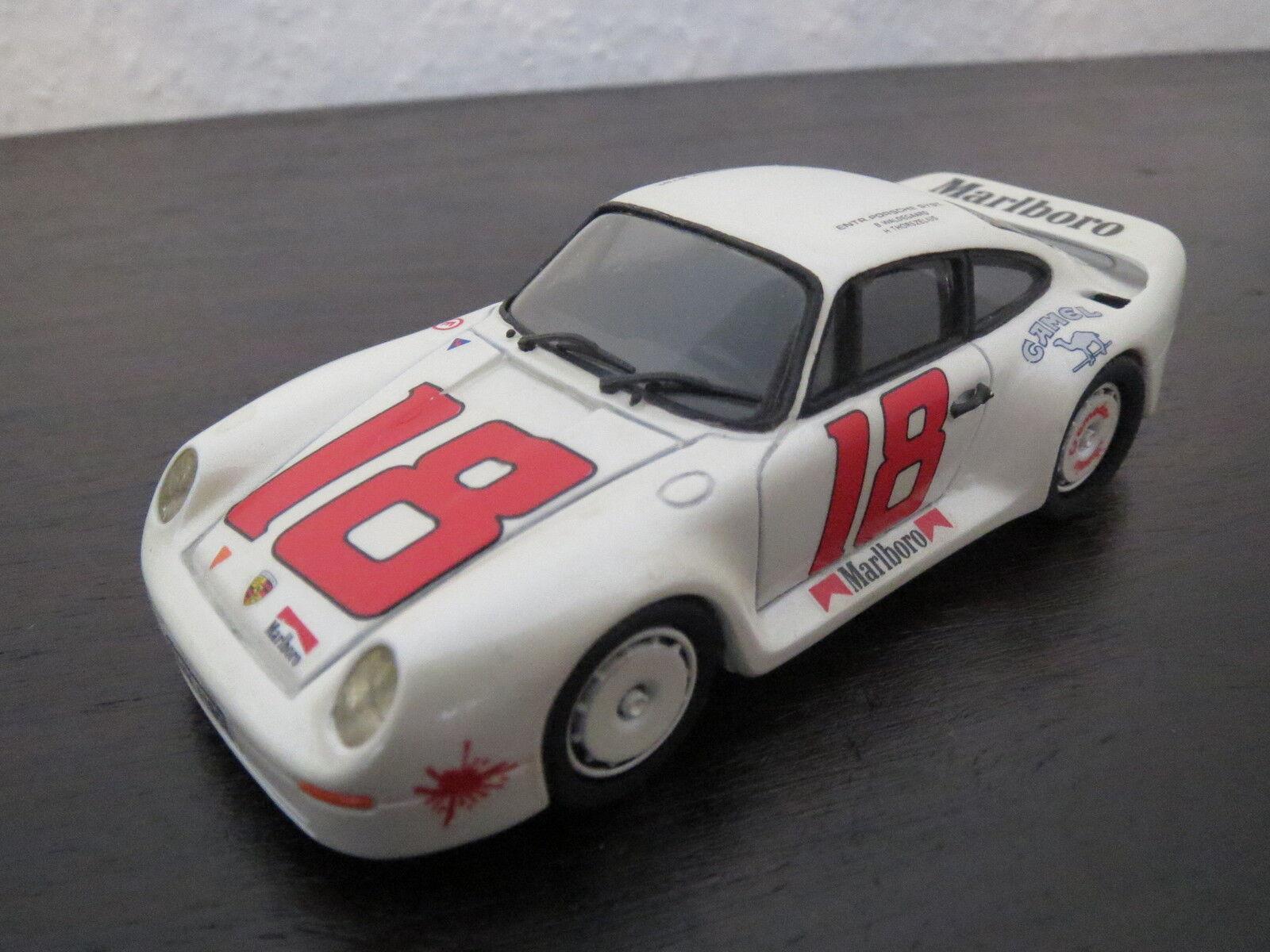 RARITÄT  Record Porsche 911 Groupe B, Umbau, weiß,  18, 1 43, SELTEN