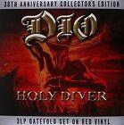 Dio - Holy Diver 30th Aniversary Collectors Edition 3lp Red Vinyl Album
