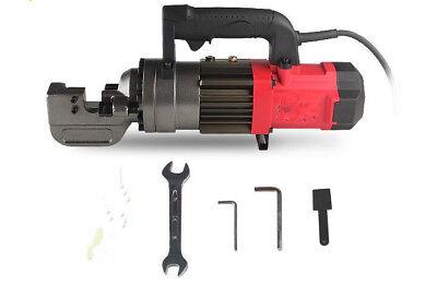 Máquina para cortar hidráulico de refuerzo 110V//220V Cortador Barra De Acero Eléctrico Cortador De Varilla