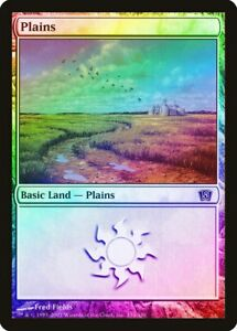 M11 NM Basic Land MAGIC GATHERING CARD ABUGames Plains 230 FOIL Magic 2011
