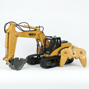 Remote Control Digger 15ch Rc Toy Excavator Truck Radio Controlled