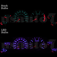Dash Instrument Cluster Gauge Purple Led Light Bulbs Kit Fits 99-04 Ford Mustang