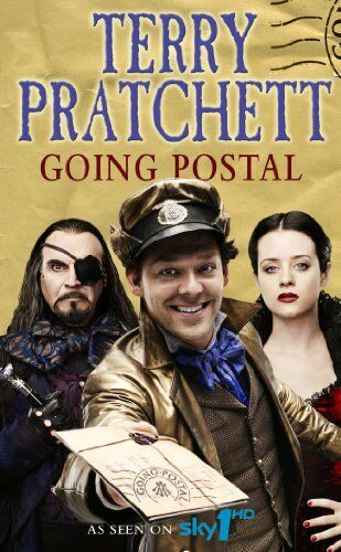 Going Postal: (Discworld Novel 33) (Discworld Novels),Terry Pratchett