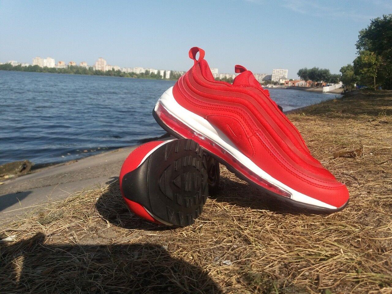 Nike Air Max 97 красные, часть, EE. редкий безболезненно. 10 EE. часть, UU. para Hombre 7ba18d