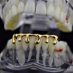 14k-Gold-Plated-Drip-Grillz-Bottom-Teeth-Dripping-Melting-Liquid-Hip-Hop-Grills