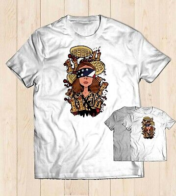 Onze Eggo T-Shirt Tees Blanc Couleur Gris Unisexe T-shirt Taille S M L 2XL UK Vendeur